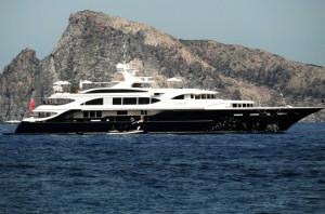 Yacht a Panarea