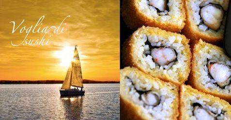 Voglia di Sushi in crociera nelle isole Eolie